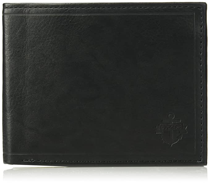 Dockers Men s Leather Bifold Wallet - RFID Blocking Classic Single Fold  with Extra Card Slots and ID Window 765d8ea9a8
