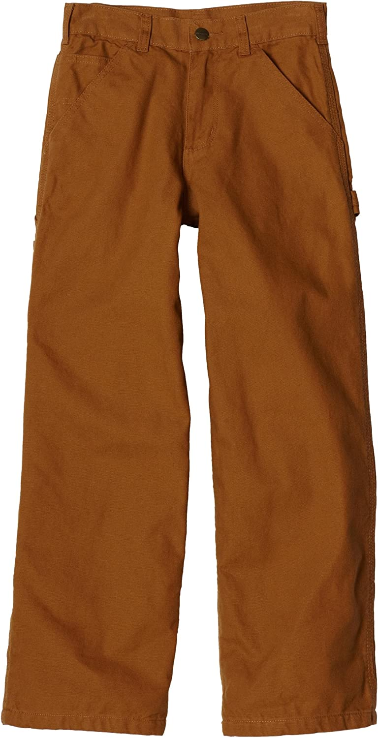 Carhartt Little Boys Flannel-Lined Washed Dungaree