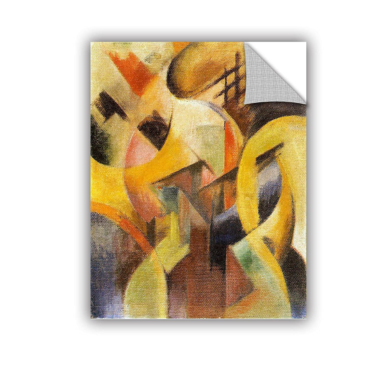 18 x 24 ArtWall Franz Marcs Small Composition Art Appeelz Removable Graphic Wall Art
