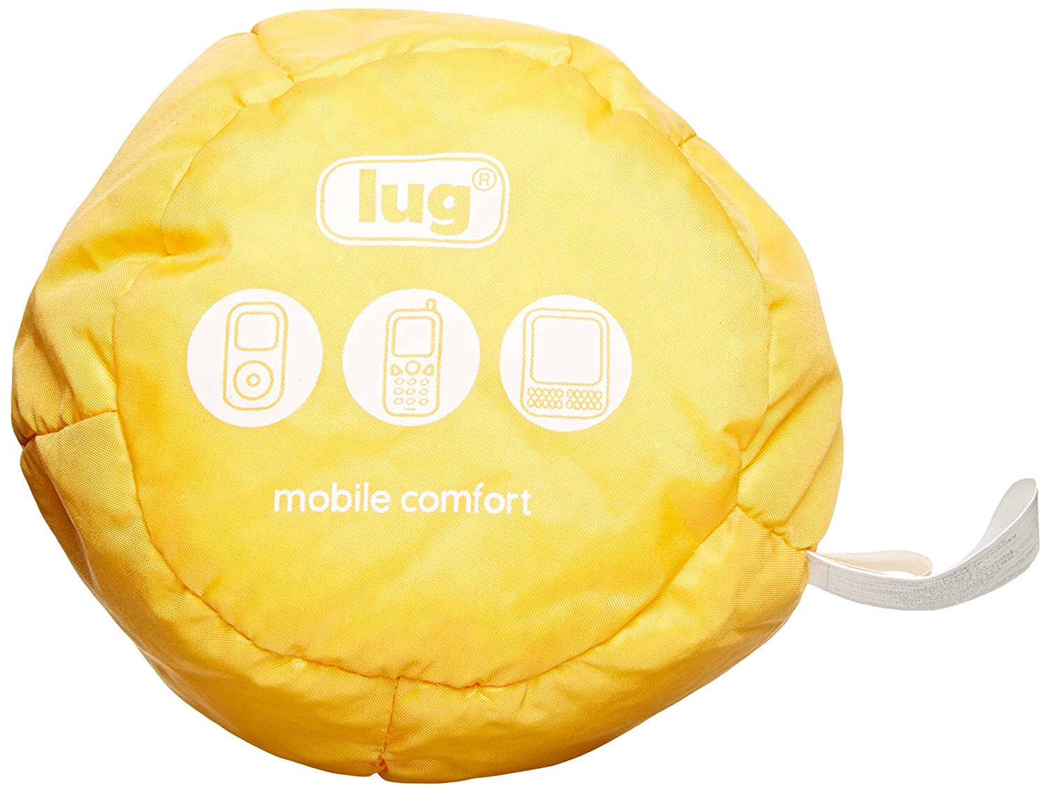 Lug Beanie Chair Cell IPod Holder, Marigold Yellow, One Size BEANIE-YELLOW