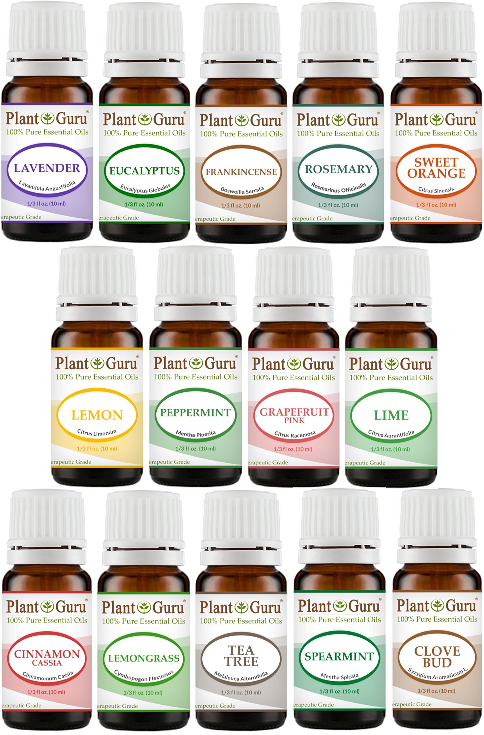 Amazon.com : Essential Oil Blends Variety Set - 14 Pack