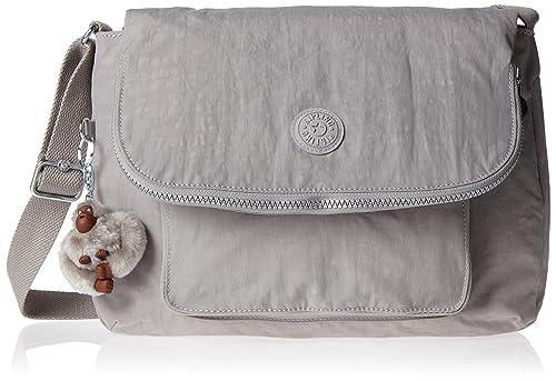 Kipling - Garan, Shoppers y bolsos de hombro Mujer, Grey (N ...