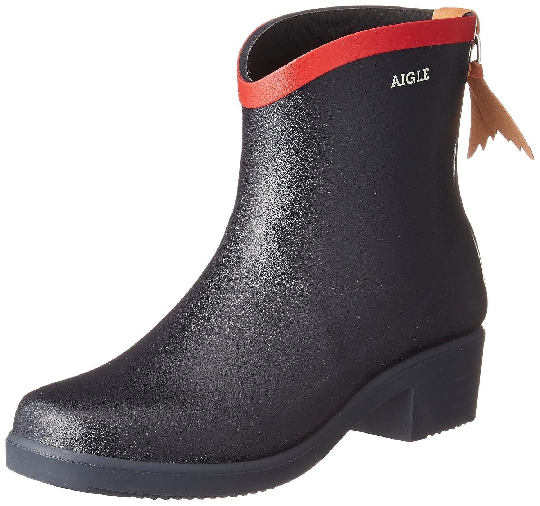 Aigle Womens Miss Juliette Bottillon Rubber Boots B00CAFOXGK 9 B(M) US Women Navy