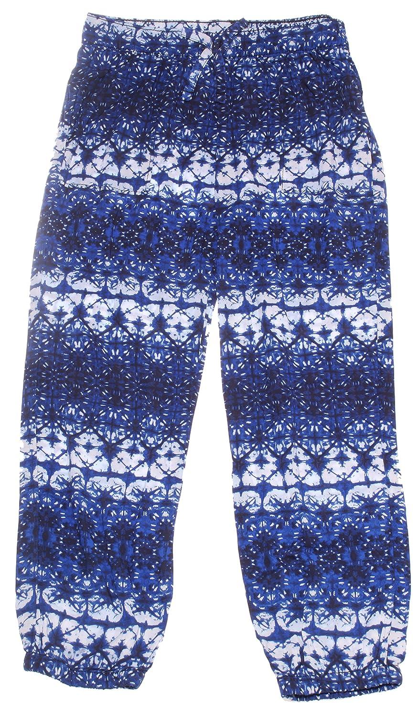 Oshkosh Girl's Print Jogger; Royal Blue (6X)