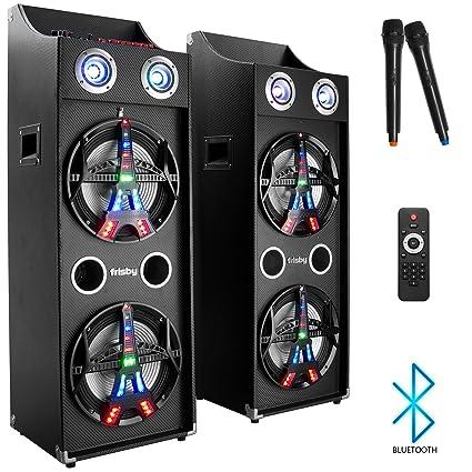 amazon com frisby fs 4090st karaoke machine pa bluetooth stereo rh amazon com
