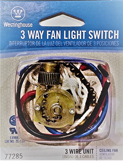 Westinghouse 3-Way Fan Light Switch - Tools Products ... on