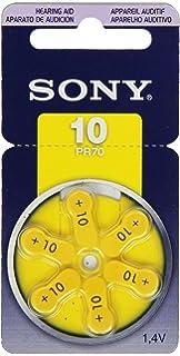 Hilfsmittel 6 X Knopfzelle Zink-luft Panasonic Pr10 Pr536 Pr230l Hörgeräte-zellen Blister