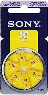 6 X Knopfzelle Zink-luft Panasonic Pr10 Pr536 Pr230l Hörgeräte-zellen Blister Hörhilfen