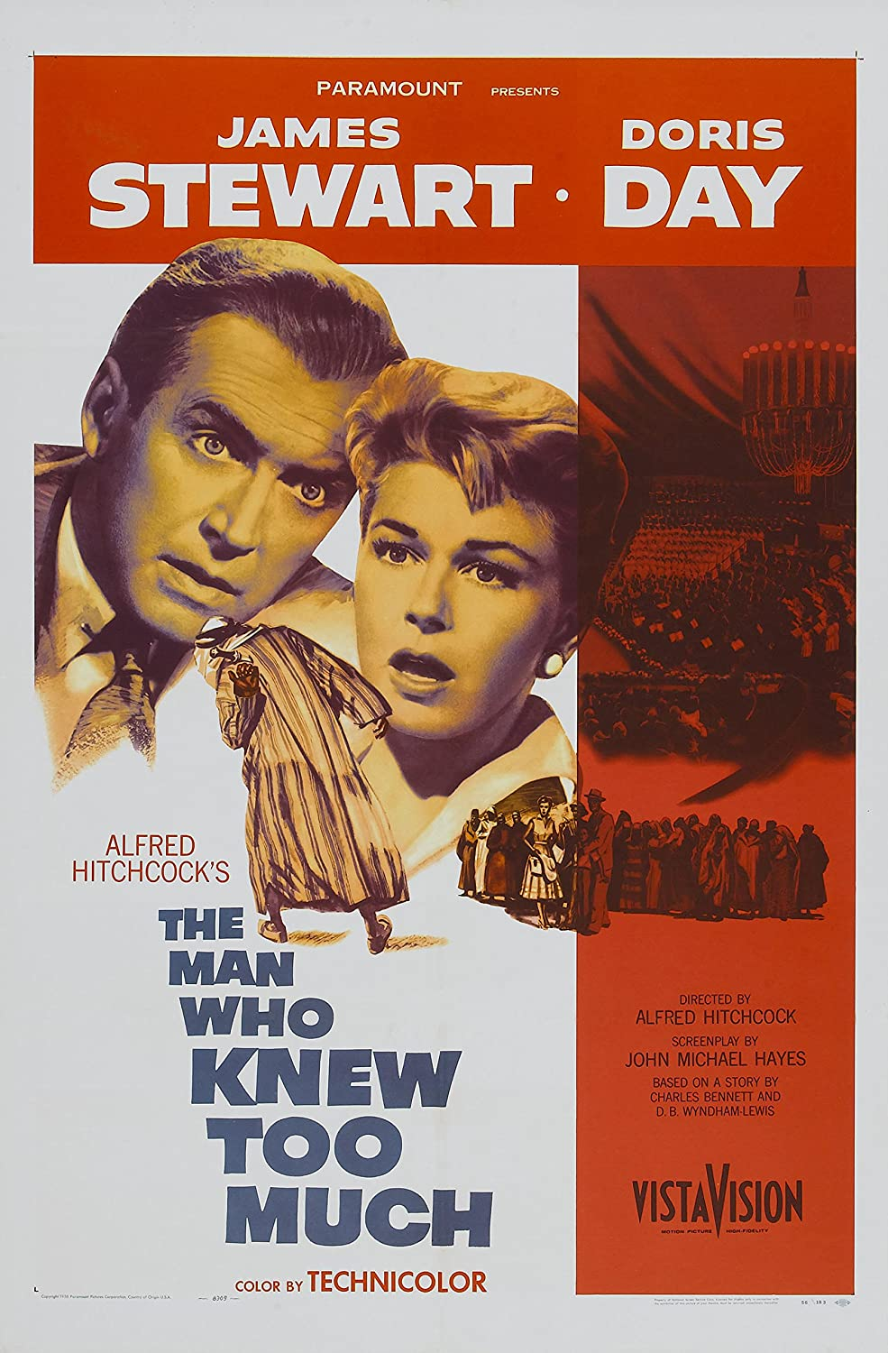 Image result for The man who knew too much poster