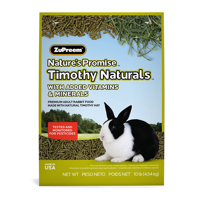 Amazon.com : Zupreem 230024 NatureS Promise Rabbit Pellets Food For Pets, 10-Pound : Zupreme Rabbit Food : Pet Supplies