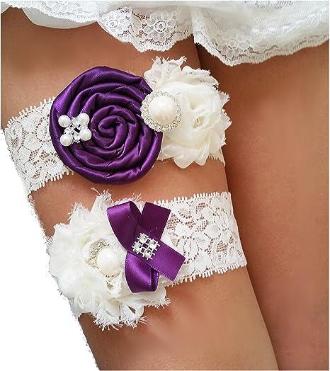 Bridal Garter Ivory Silk and Chiffon Wedding Garter Silk Ivory Garter Wedding Garter Belt