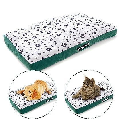 Milliard enrollable Viajes Pet cama/colchón – ideal para camping o para viajar con su