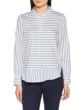 TOM TAILOR Damen Bluse Trendy Basic Blouse  Amazon.de  Bekleidung 142f363a5f