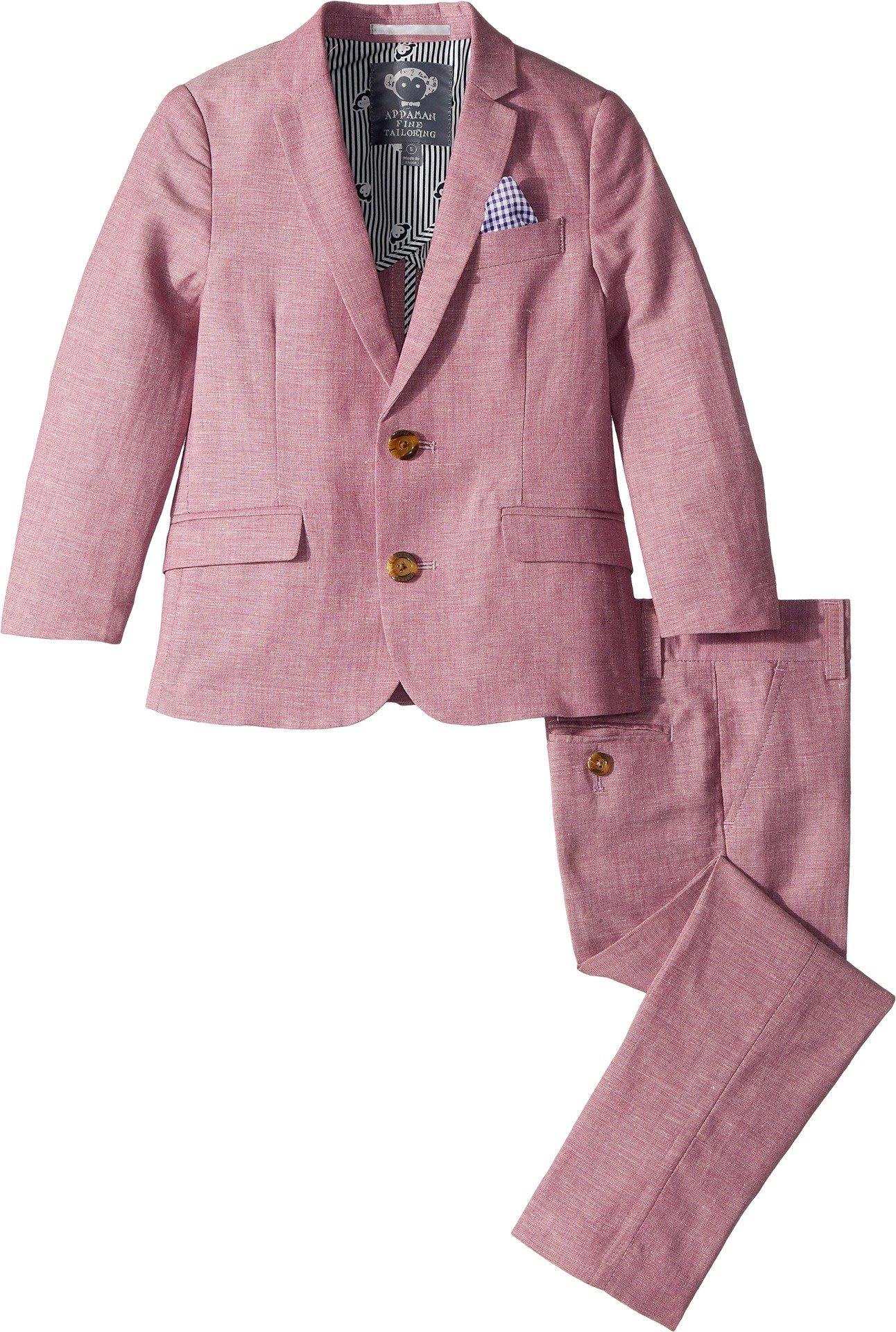 Appaman Kids Baby Boy's Two-Piece MOD Suit (Toddler/Little Kids/Big Kids) Raspberry 6 by Appaman Kids (Image #1)
