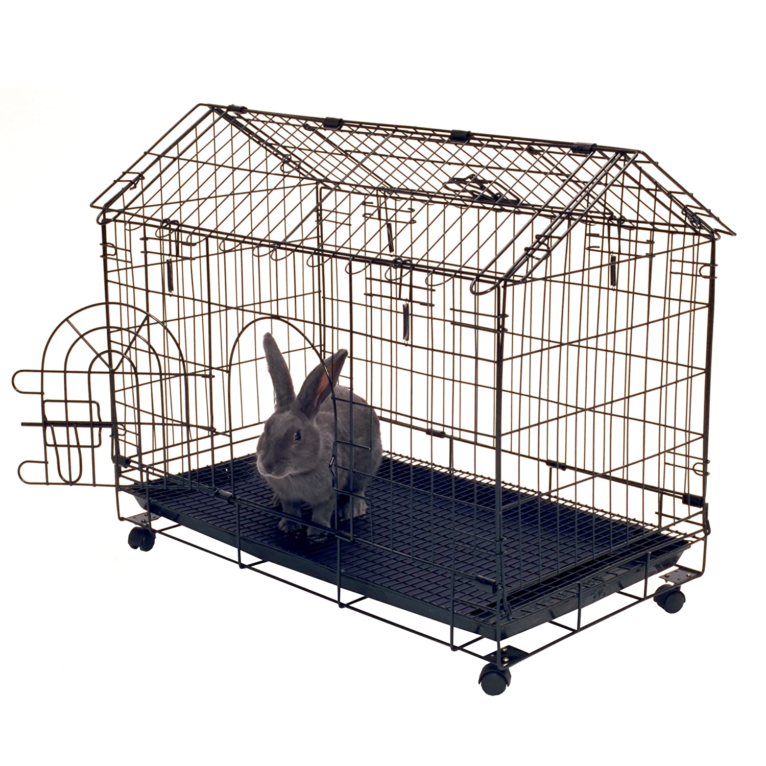 kennel aire safe large indoor rabbit cage hutch bunny. Black Bedroom Furniture Sets. Home Design Ideas