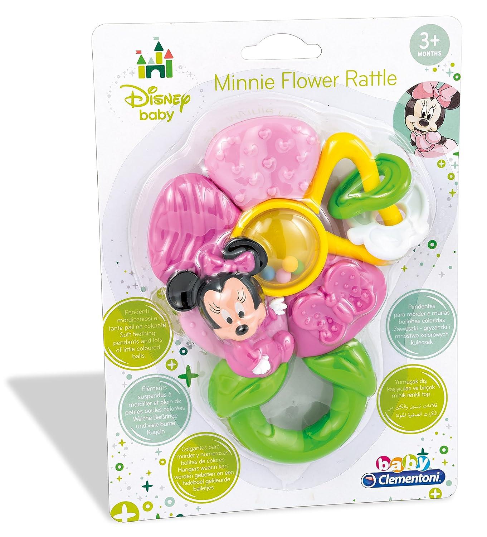Minnie Mouse Sonajero flor Clementoni