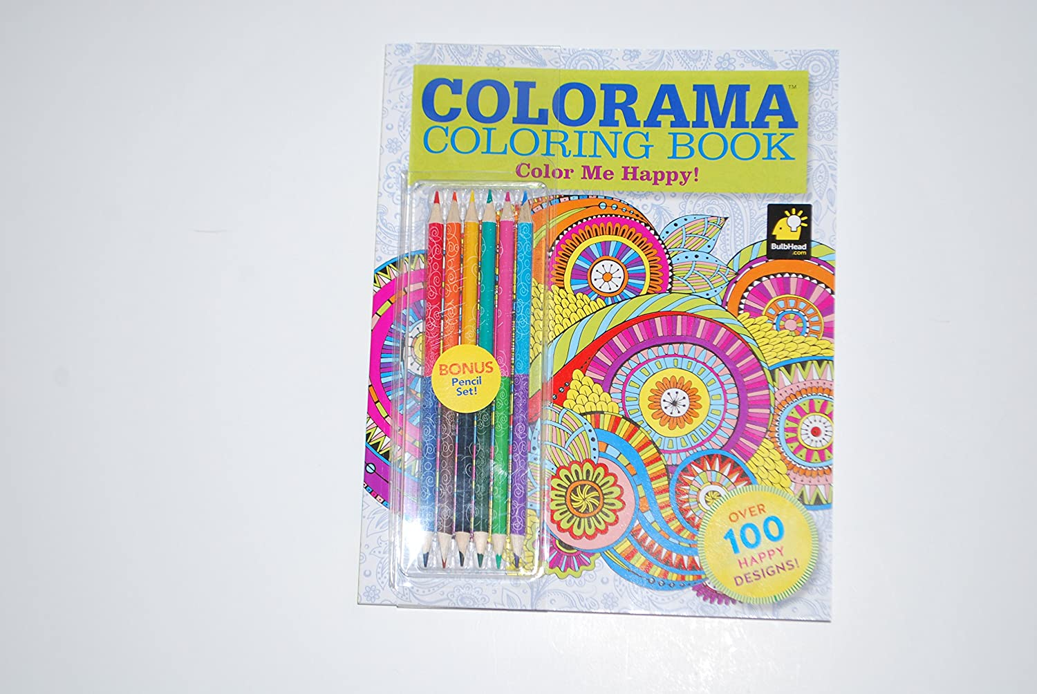 Amazon Colorama Coloring Book Color Me Happy