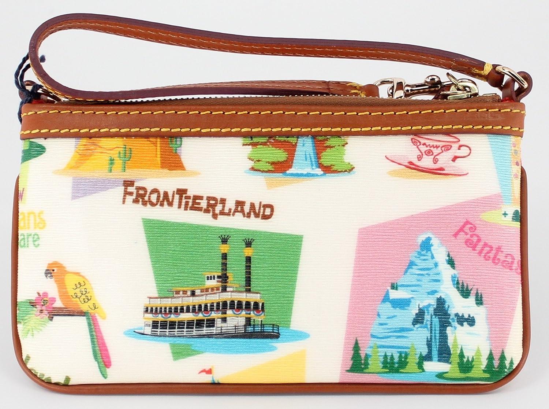 Disney Dooney /& Bourke Disneyland Retro Slim Wristlet Wallet Purse with Strap