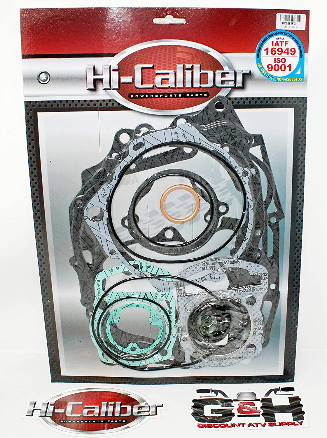 Hi-Caliber Powersports Parts OEM QUALITY Complete Engine Oil Seal Kit for the 1993-2008 Honda TRX 300EX Sportrax ATVs