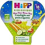 Hipp Biologique Mon Dîner Bonne Nuit Conchiglie aux Petits Légumes dès 18 mois - 6 assiettes de 260 g