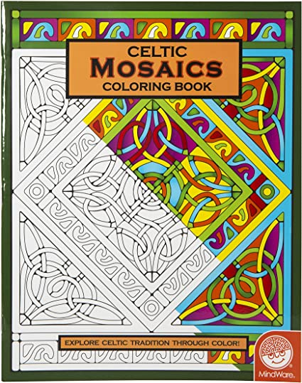 Mindware Mystery Mosaics Coloring Book Number 6 Speed Color ... | 539x425