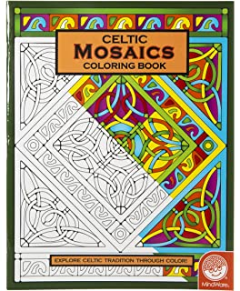 MindWare Celtic Mosaic Coloring Book 23 Unique Designs Teaches Creativity And Fosters Imagination