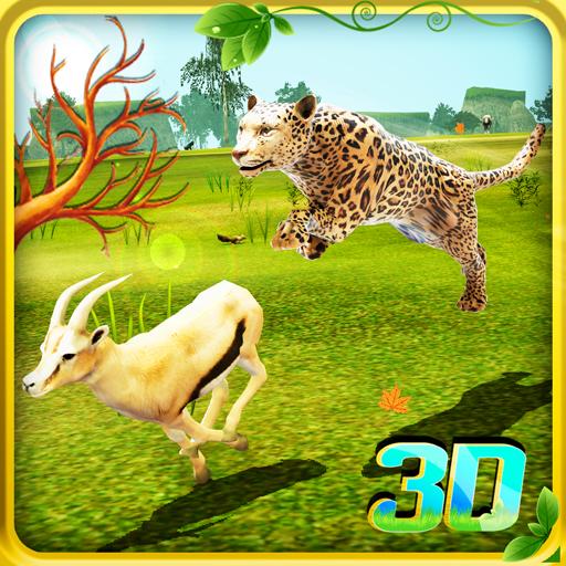 Virtual Wild Cheetah Family Simulator Games For Kids