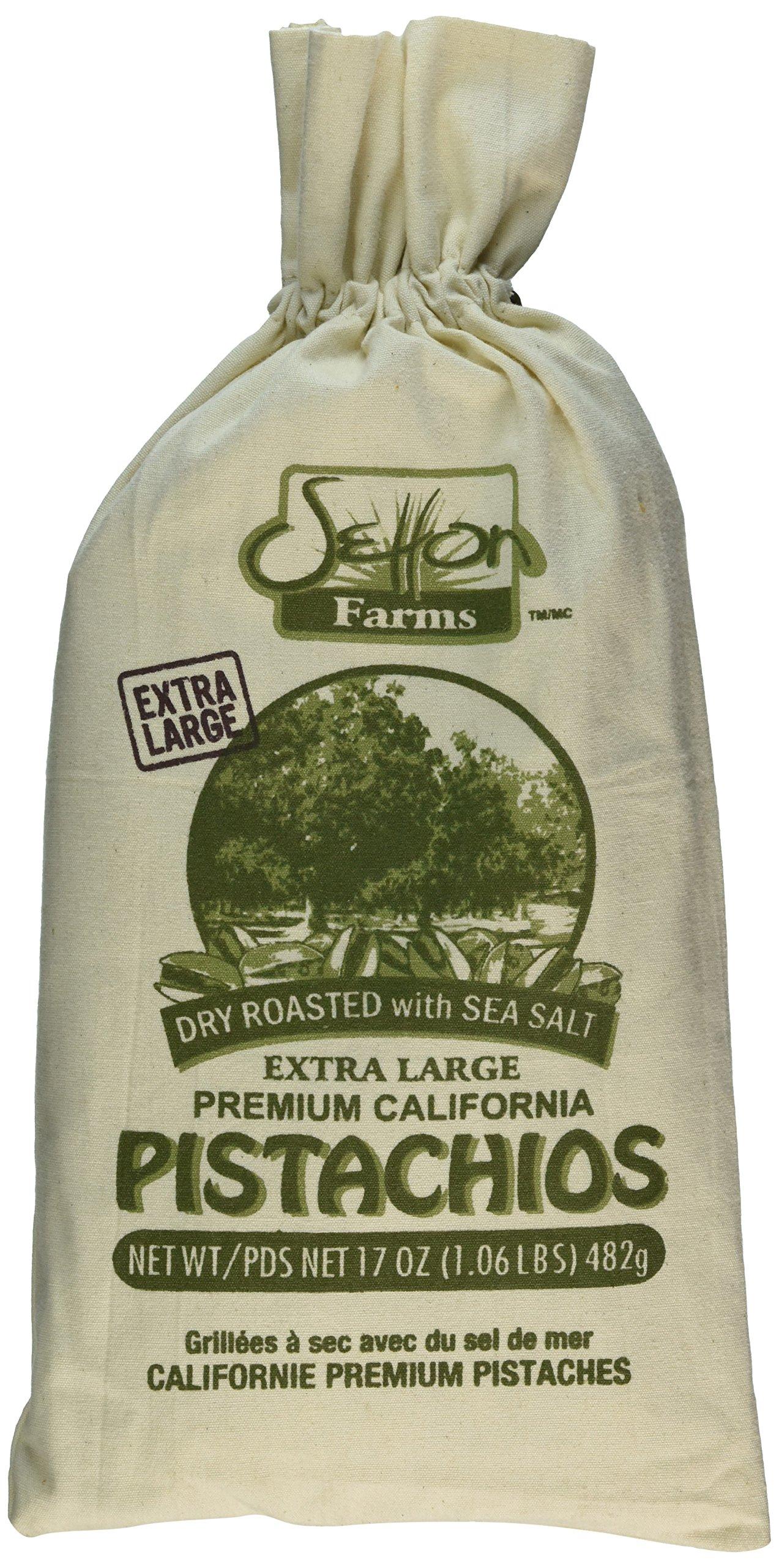 Setton Farms 1.06 LBs Extra Large Pistachios Burlap Bag