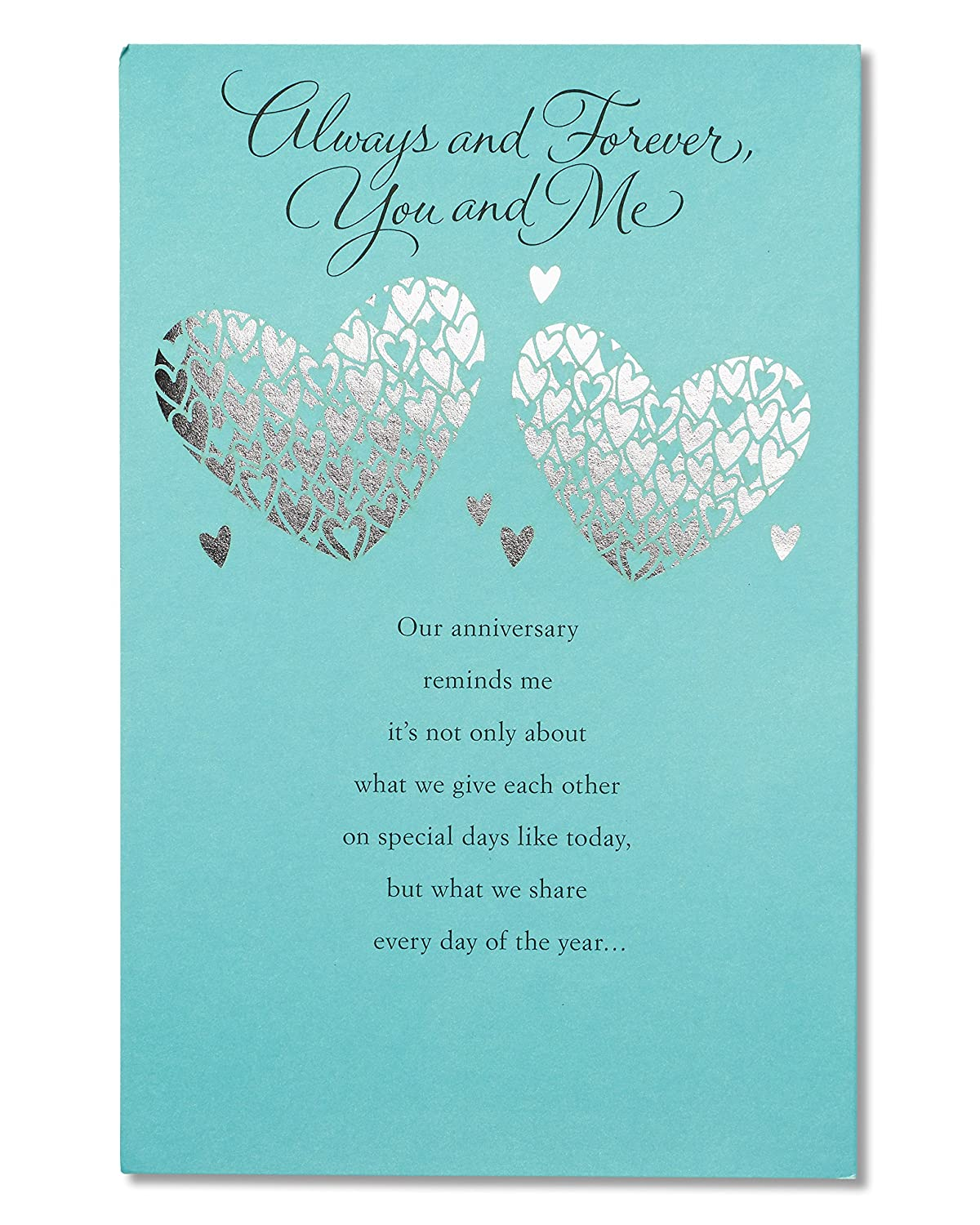 Amazon American Greetings Greatest Gift Anniversary Card With