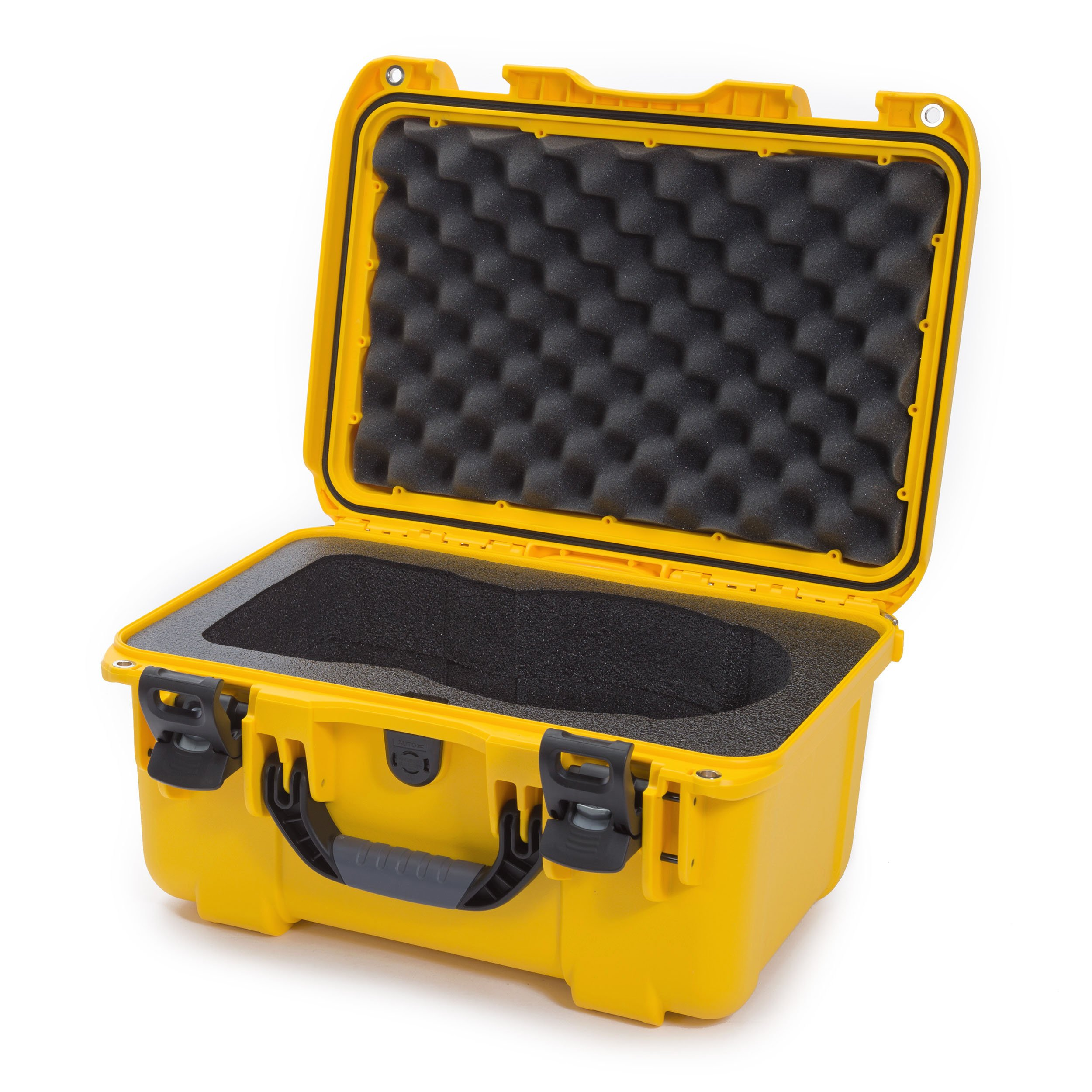 Nanuk 918-Goggles Hard Case with Foam Insert for DJI Goggles Camera, Yellow (918-GOGGLES4)