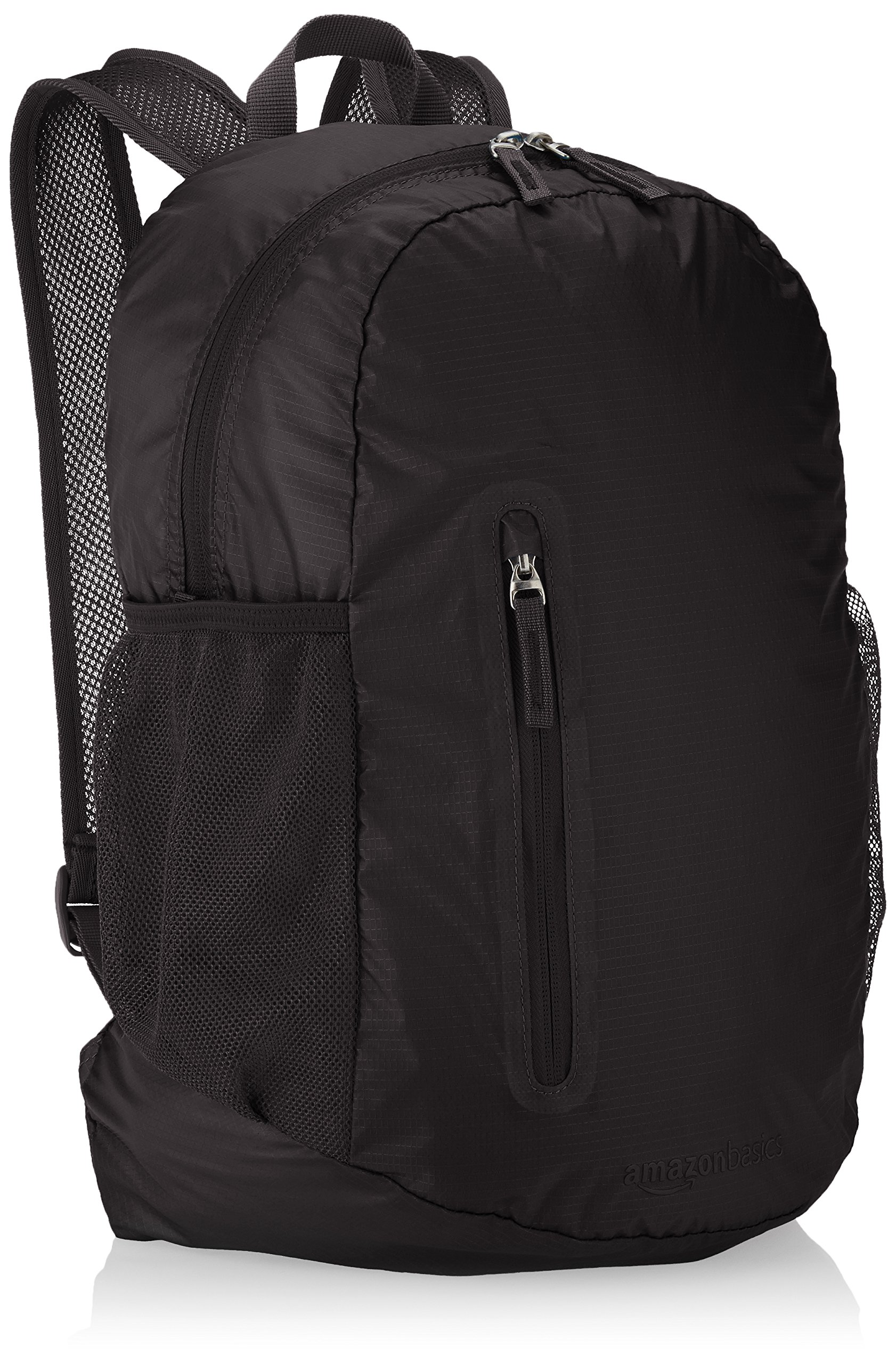 AmazonBasics Ultralight Packable Day Pack - Black, 25L