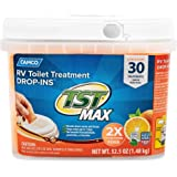 Camco TST Orange 30 Pack Ultra-Concentrated Citrus Scent RV Toilet Treatment Drop-Ins