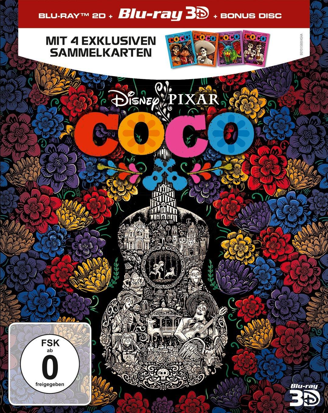 Coco - Lebendiger als das Leben: Blu-ray 3D + 2D + Bonus Disc ...