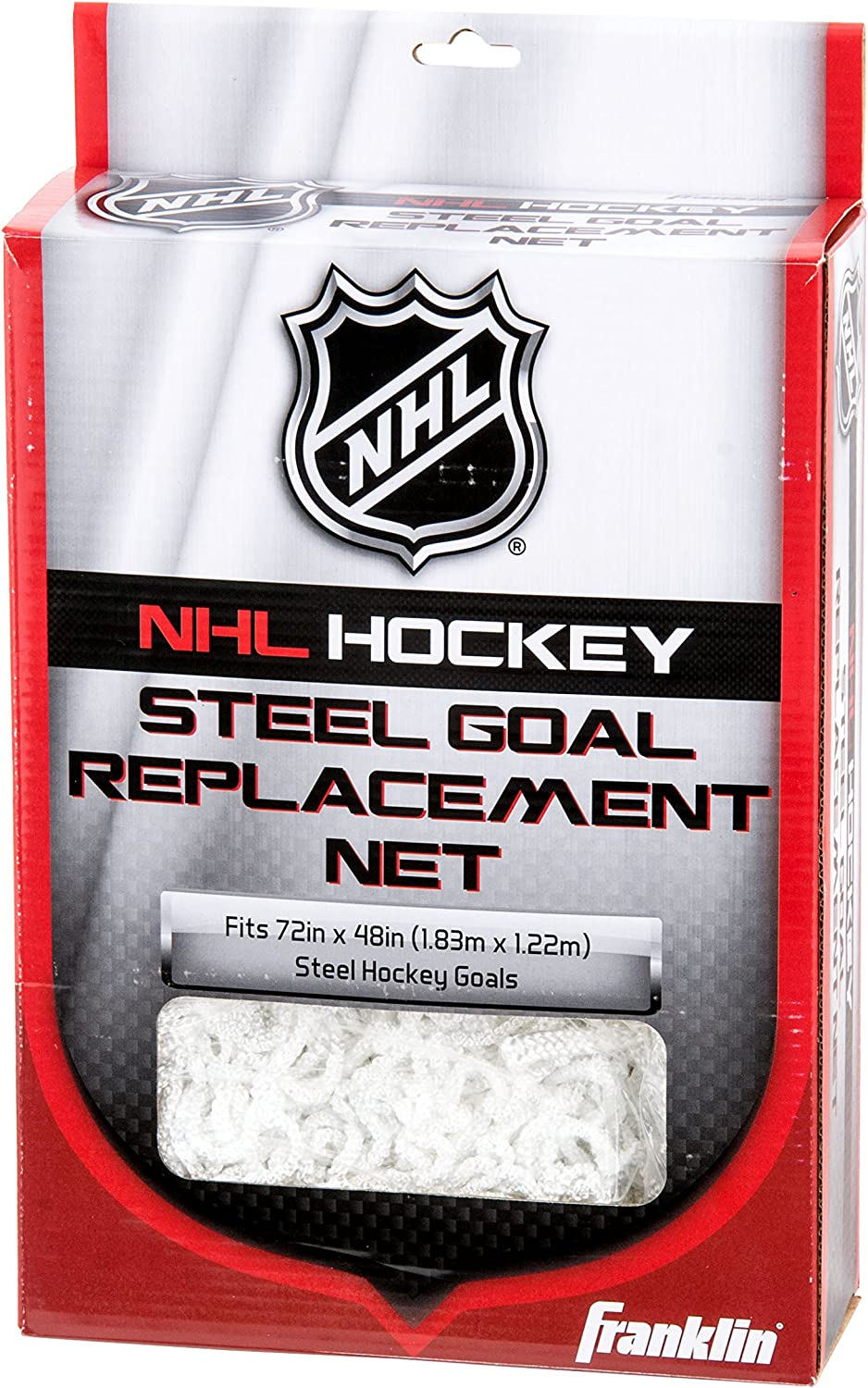 Franklin Sports Hockey Goal Replacement Net - 72 x 48 Inch - NHL - White : Sports & Outdoors