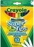 Crayola Supertips Washable - Pack of 12