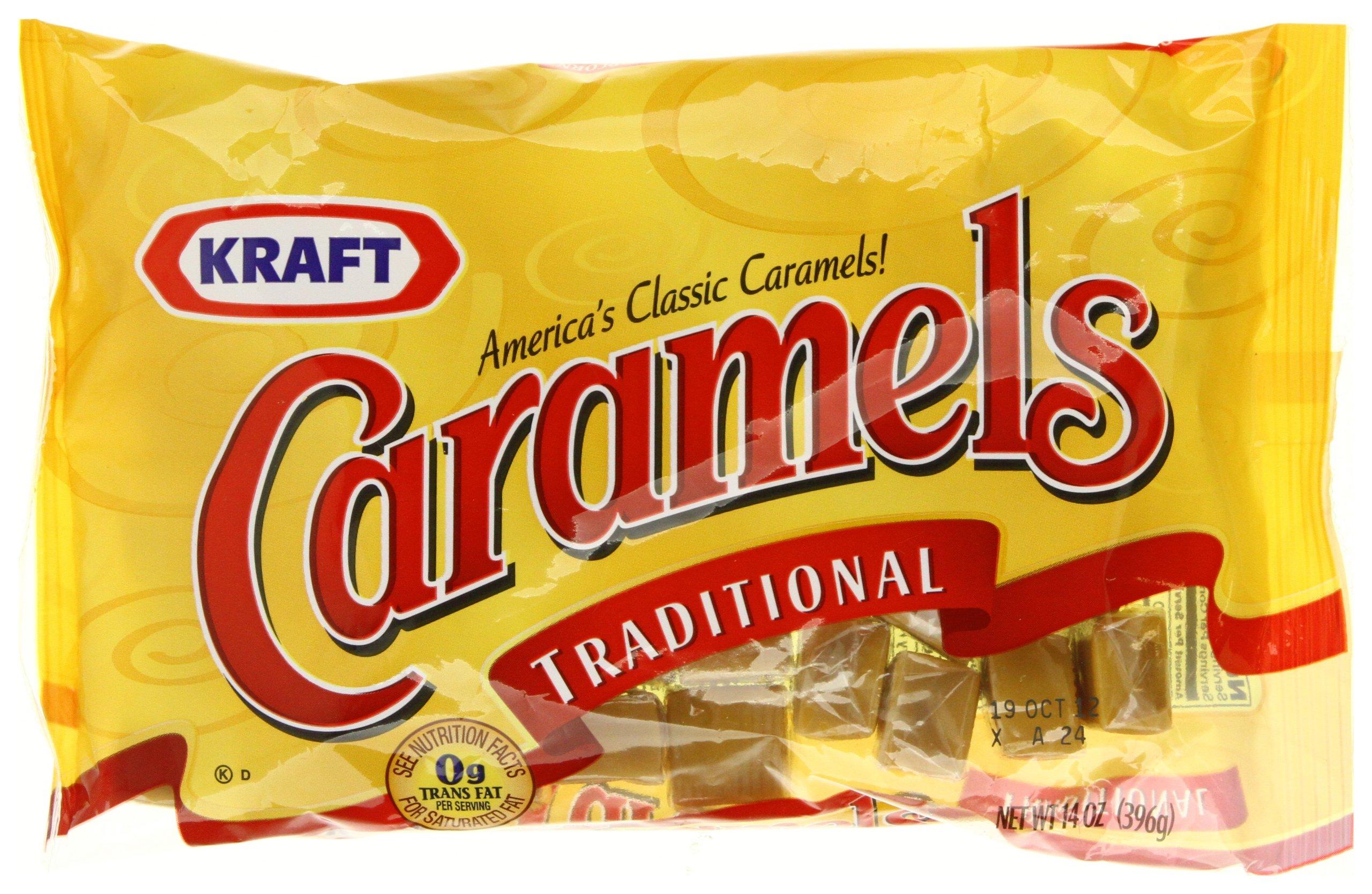 Kraft Caramels, 11-Ounce Bags (Pack of 12) by Kraft