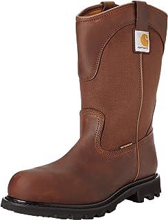 591f865ddfe Amazon.com: Carhartt Men's 11-Inch Waterproof Safety Toe Wellington ...