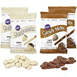 Wilton Light Cocoa and White Candy Melts Candy Set, 4-Piece
