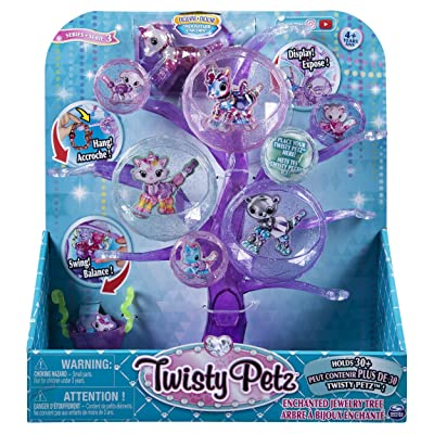 Twisty Petz, Series 3, Enchanted Jewelry Tree with Exclusive Collectible Bracelet, for Kids Aged 4 & Up, Multicolor: Toys & Games