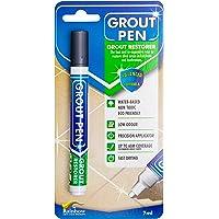 Grout Pen Donkergrijs, voor het stimuleren en herstellen van tegelvoegen.