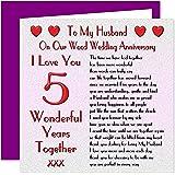 happy 5 year anniversary to my husband