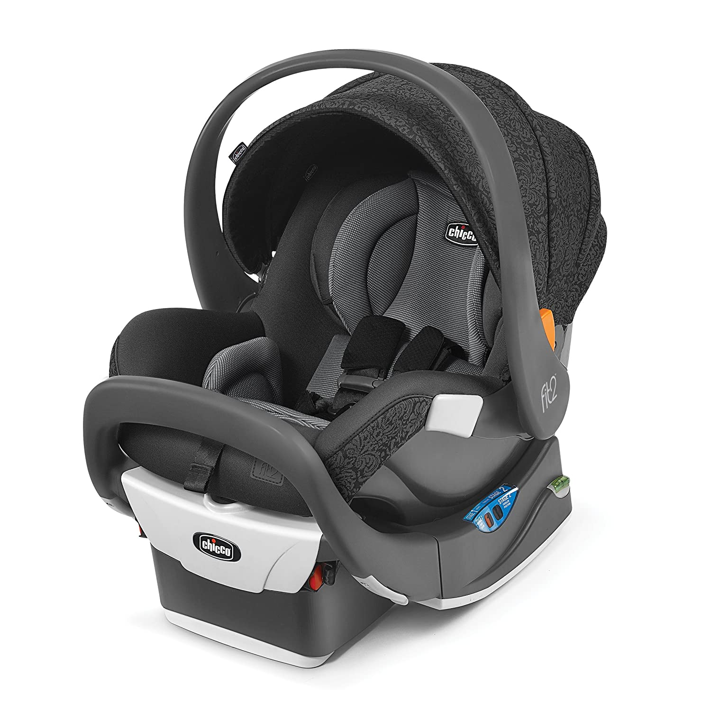 Chicco Fit2 Infant Toddler Car Seat, Fleur