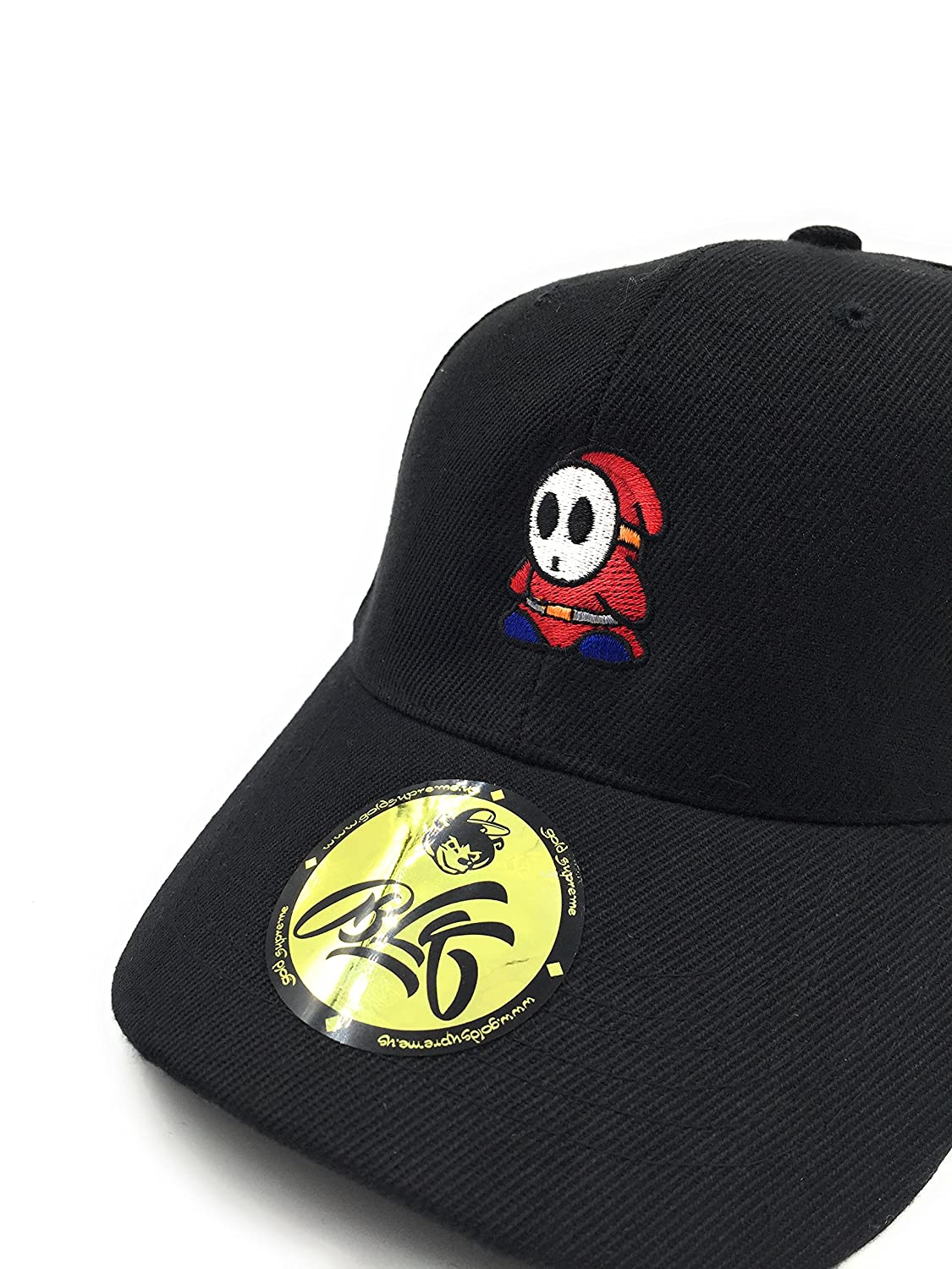 B L K   Shy Guy Dad Hat - Black  Amazon.co.uk  Clothing 0b6347612b44