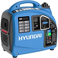 Hyundai HY2000si, 2000 Running Watts/2200 Starting Watts, Gas Powered Portable Inverter