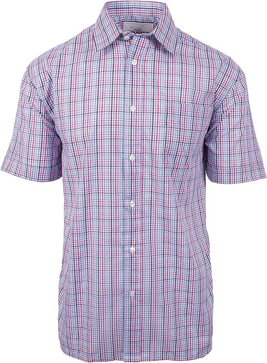 Fenside Country Clothing - Camisa de Manga Corta para Hombre ...