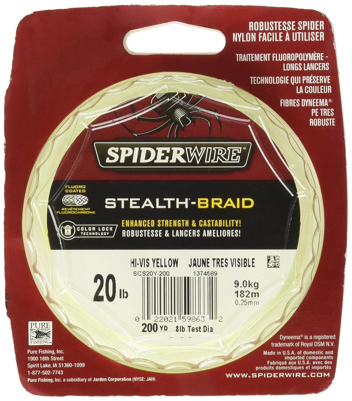 Amazon.com : SpiderWire Stealth Superline Fishing Line : Sports ...