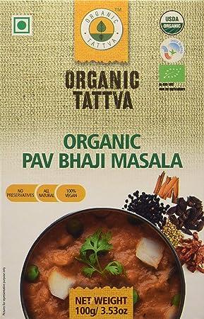 Organic Tattva Pav Bhaji Masala, 100g