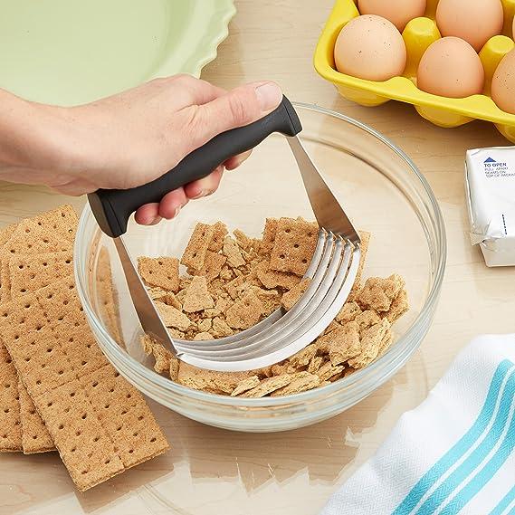Spring Chef - Batidora de masa profesional con cuchillas de acero inoxidable: Amazon.es: Hogar