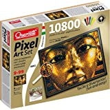 Quercetti–00802Jeu Pixel Art Set 10800tUTANKHAMON