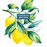Deluxe Recipe Binder - Favorite Recipes (Lemons)